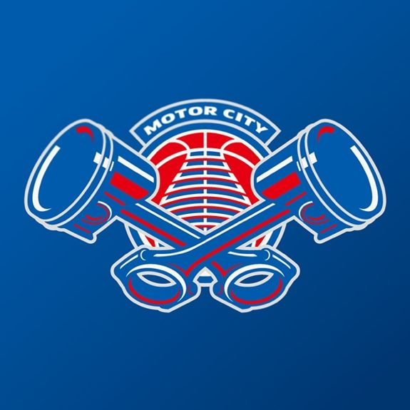 Detroit Pistons Logo Concept - Hooped Up