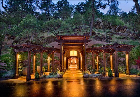 Calistoga Ranch, Napa Wedding Site
