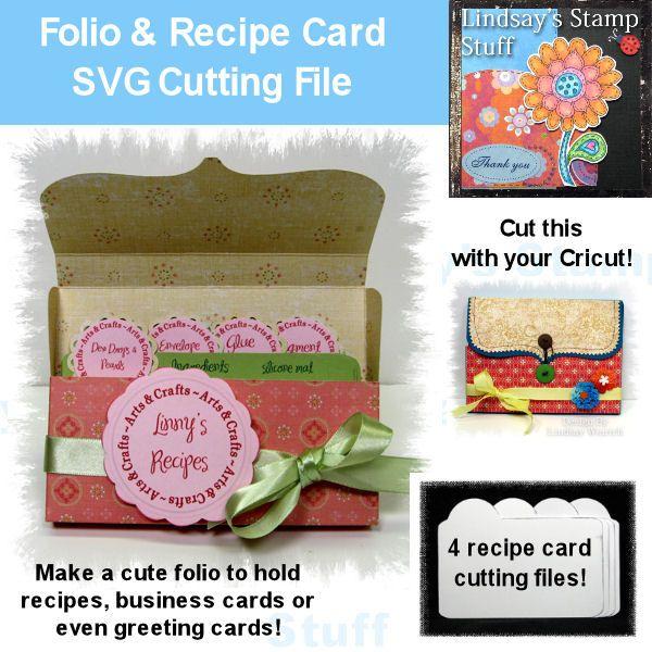 company recipe card