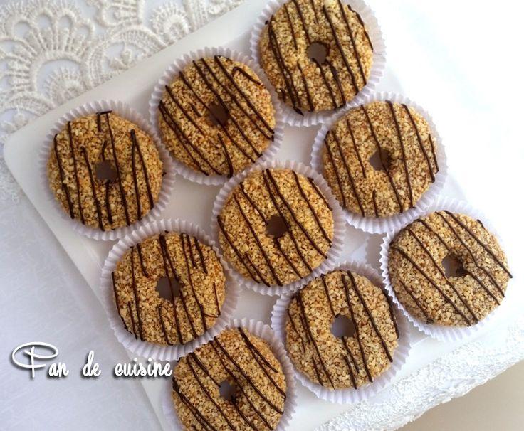 Sablé au halwa turc et cacahuètes