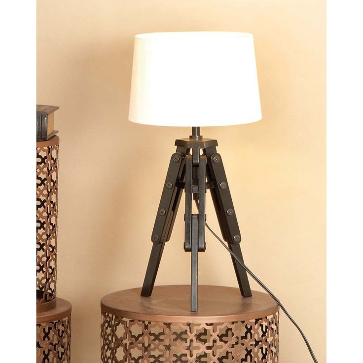 Best 25 tripod table lamp ideas on pinterest bedside lamps decmode 67676 tripod table lamp from hayneedle mozeypictures Gallery