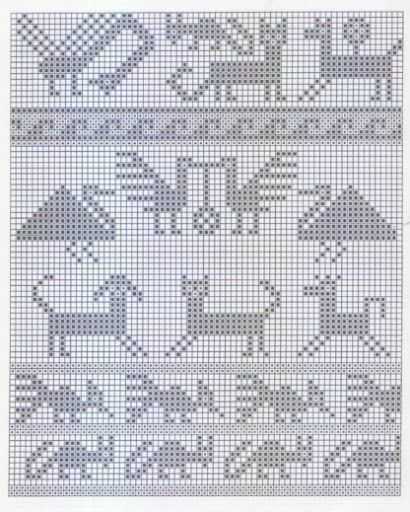 Andean Knitting charts + The Andean Tunics (Met.Museum) - Monika Romanoff - Picasa Web Albums: