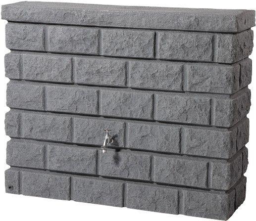 Wandtank Rocky Dark Granit 326130 Regentonne kaufen