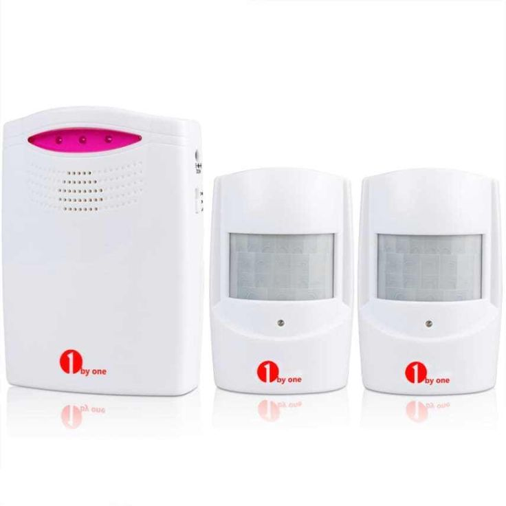 Wireless Home Security Driveway Alarm PIR Weatherproof Motion Sensor Detector Reliable Range - Communication range of up to 100m/328ft (the distance from the sensors to the receiver/alarm/chime) and detection range of the infrared sensor of approximately 5-8m/16-26ft to keep you informed and safe. User-Friendly - The alarm in the receiver has a ring volume up to 100dB, 3 mode choices (Sound/LED Flash/Sound and LED Flash) and 3 alert choices (High Volume Chime&#x2...
