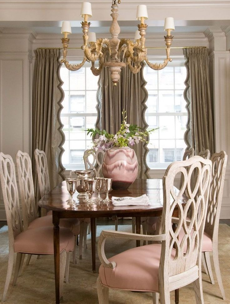 Designer Spotlight Melissa Rufty Custom CurtainsDrapery PanelsElegant DiningWindow DressingsDining ChairsDining RoomsDesign