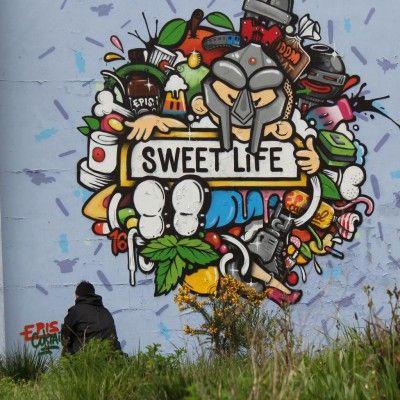 EPIS ONE : Du 30 mai au 05 juin 2016, rue de firminy (bloc ERDF)  #streetart #grafitiart #grafiti #sessionlibre #festivla #10emeart