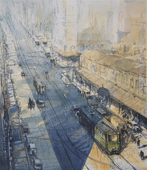 oil painting and sydney tram line Thermoforming process line  woods forest autumn season colorado rocks stream oil painting  1903-60 major original oil painting christmas the rocks sydney.