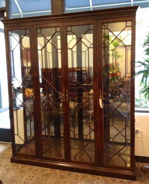 henredon china cabinet (sold) | henredon le villa consignment