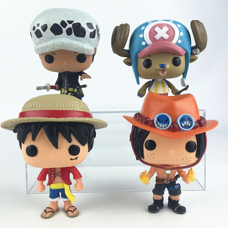 One Piece Funko POP Luffy Chopper Ace Trafalgar Law