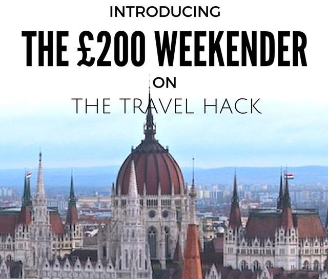 """""""What would you like to see more of on The Travel Hack?"""" This is a question I pose to readers all the time and the overwhelming response is always, 'cheap weekend breaks!' Yes, everyone wants more che"""