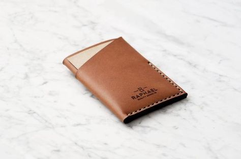 Original Design   Quality Craftsmanship - A minimal wallet made from a single piece of full grain leather, that wraps within and around itself to create the original and definitive LEAN™ wallet - Hand sewn, using the time-honoured 'Saddle Stitch' technique, this is