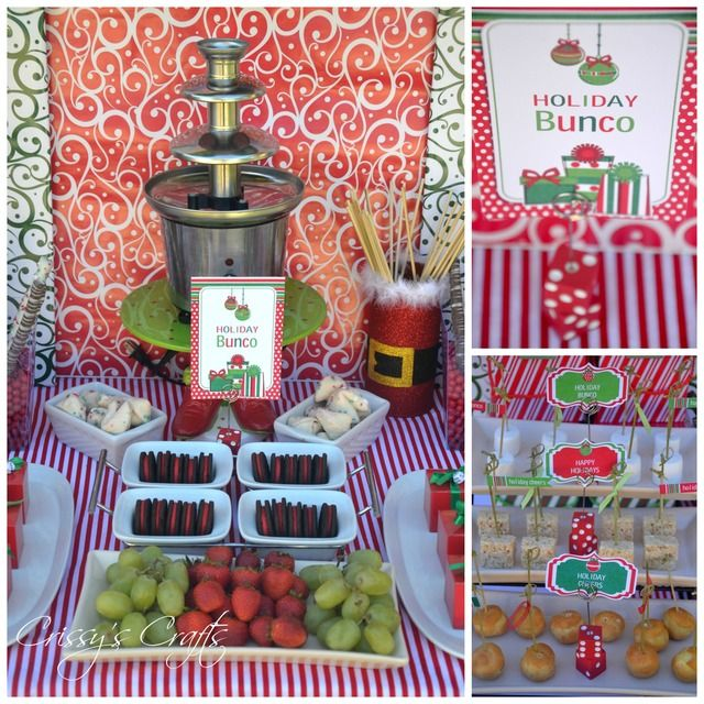 Lovely Christmas Bunco Party Ideas Part - 6: Holiday Bunco Christmas/Holiday Party Ideas