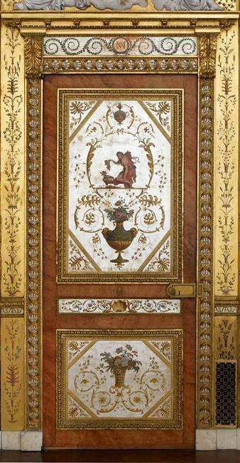 Boudoir de Marie Antoinette à Fontainebleau