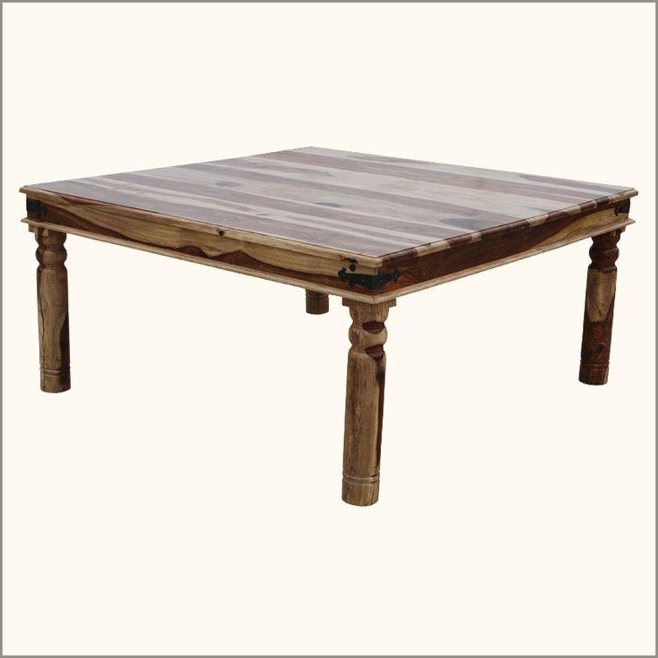 9 pc dallas square handmade dining room table furniture - Dining Room Furniture Dallas