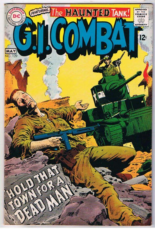 201 best war comics images on pinterest war comics comics and g i combat comics combat 129 comic book publicscrutiny Choice Image