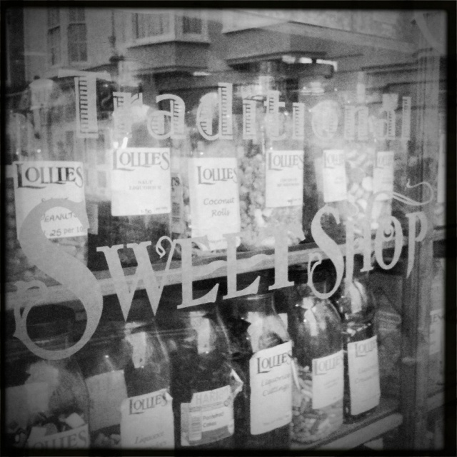 Traditional Sweet Shop, Tenby, Wales.