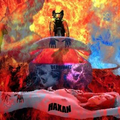 Haxan – Deprivate 2015  Haxan has joined together both a compelling story and a quintessential rock album. Deprivate is about a character named Horus who is seduced by Maggie to use