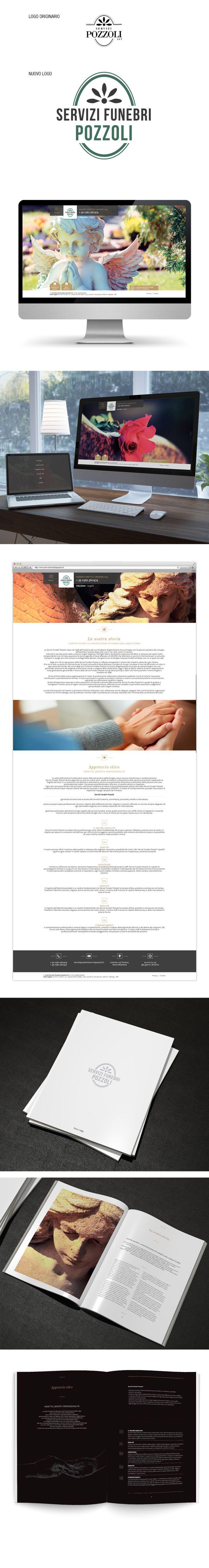 Il portale che b_centric ha sviluppato per Servizi Funebri Pozzoli è concepito con tecnologia responsi e porta nella sua genesi tre importanti fasi di sviluppo: un progetto grafico pulito; una ricerca e selezione accurata per le immagini e una stesura edioriale dei testi molto tecnica, completa ed esaustiva. Accanto al portale, il redesign del marchio e il progetto di una brochure per il target B2B hanno completato il progetto di comunicazione.