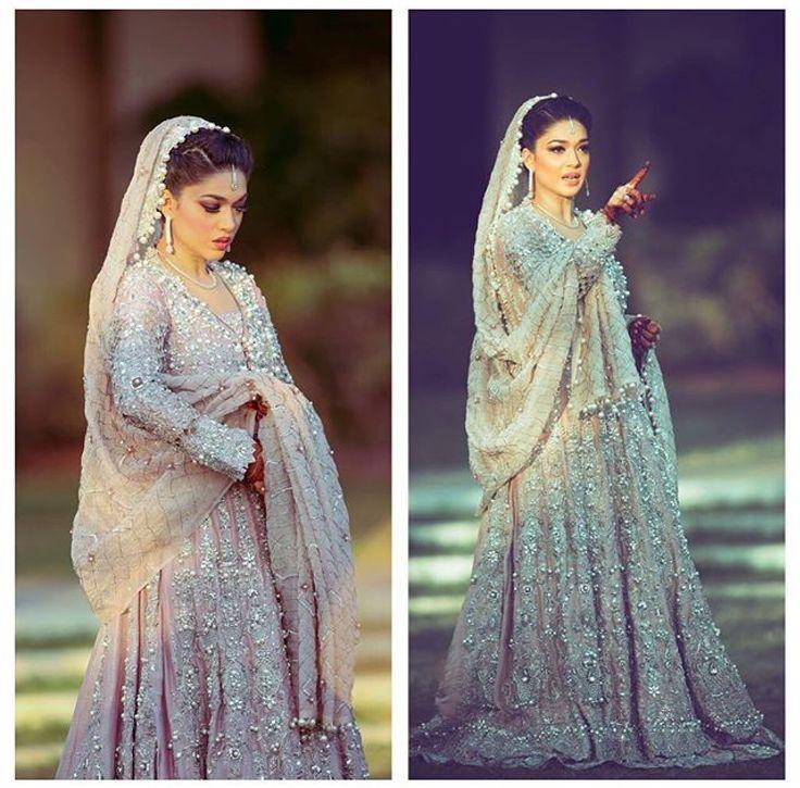 Sanam Jung in NidaAzwer Pakistani couture