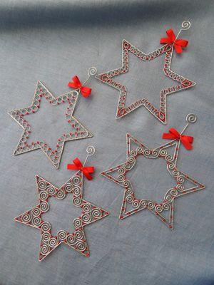 hviezdičky, Drôtovanie | Artmama.sk