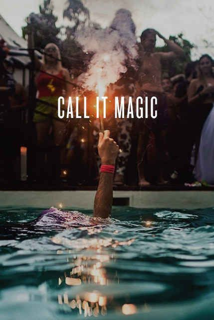 """Call it magic."" – Coldplay 