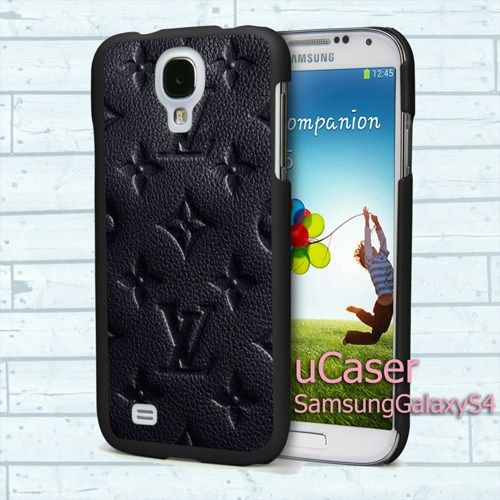 "LV Black Pattern for Samsung Galaxy S4 5.0"" screen Black Case"