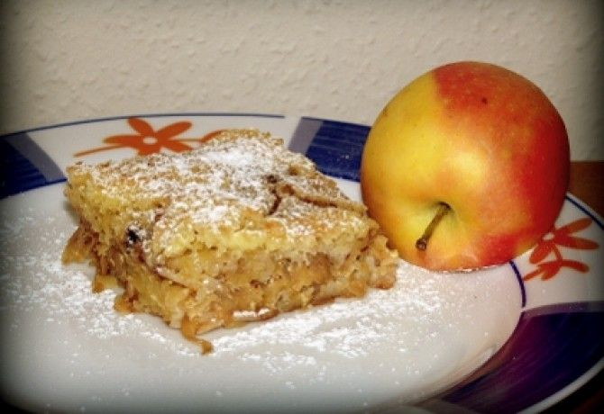 Almás süti lustáknak recept képpel. Hozzávalók és az elkészítés részletes leírása. Az almás süti lustáknak elkészítési ideje: 50 perc