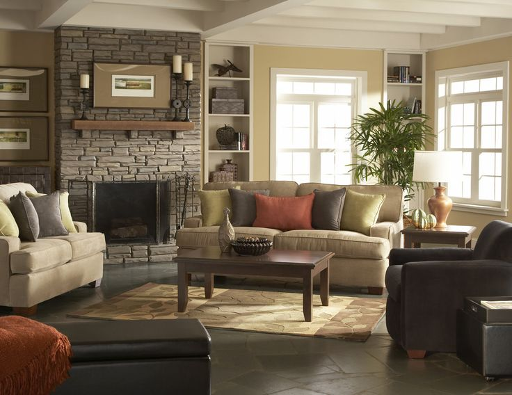 Harper Sofa And Loveseat Living Room (Via CORT Indianapolis)
