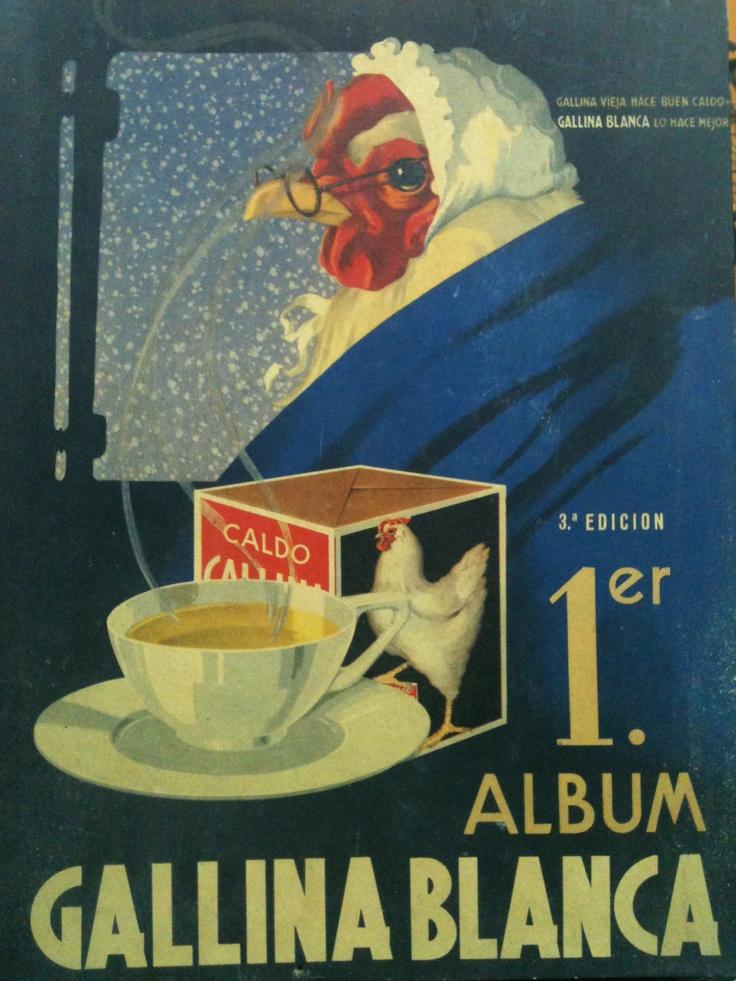 Album de cromos Gallina Blanca