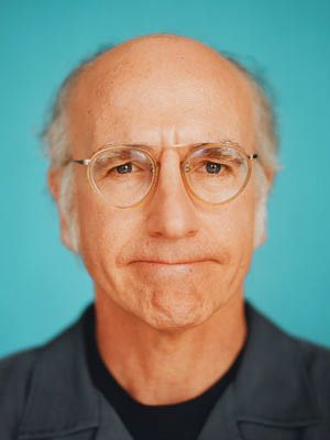 Larry David, Curb Your Enthusiasm  I have had the biggest crush on Larry David!! He's sexy in a nerdy,intelligent, self assured way. Yes!!!