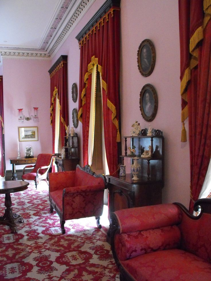 Dundurn Castle  - Hamilton, ON. Canada  - Interior shot