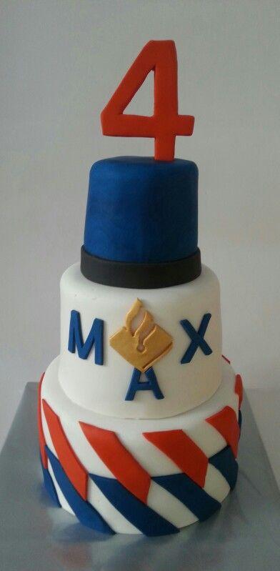 Dutch Police birthday cake / politie taart