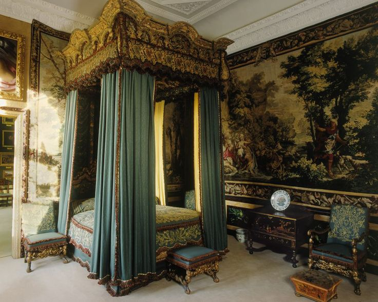 burghley house queen elizabeth 39 s bedroom photo credit keith lynch english interior