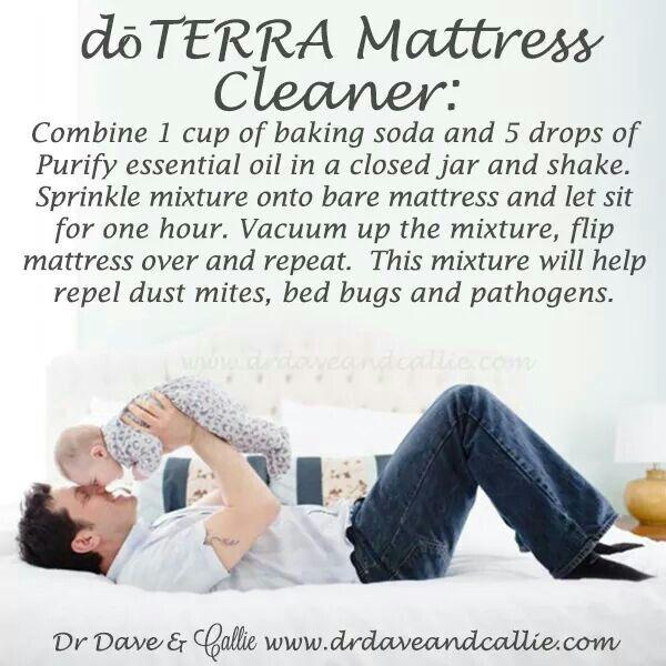 DIY doTERRA mattress spray cleaner
