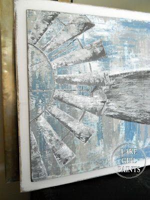 Painting Windmill Art