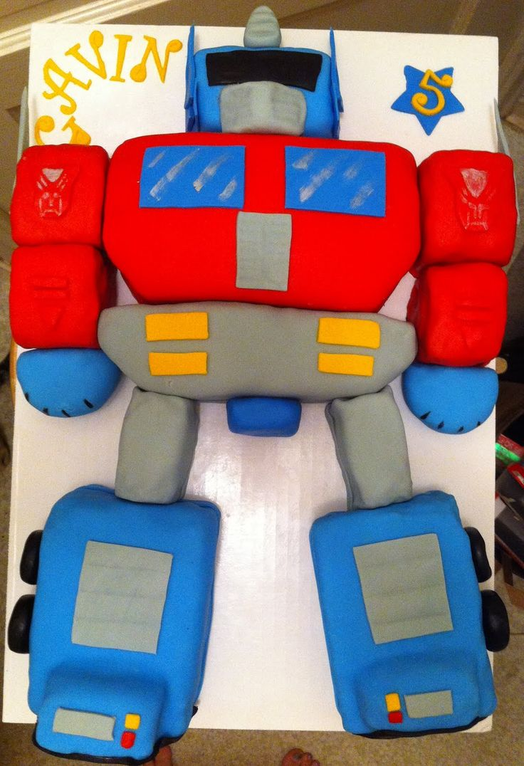 Optimus prime cake - Google Search