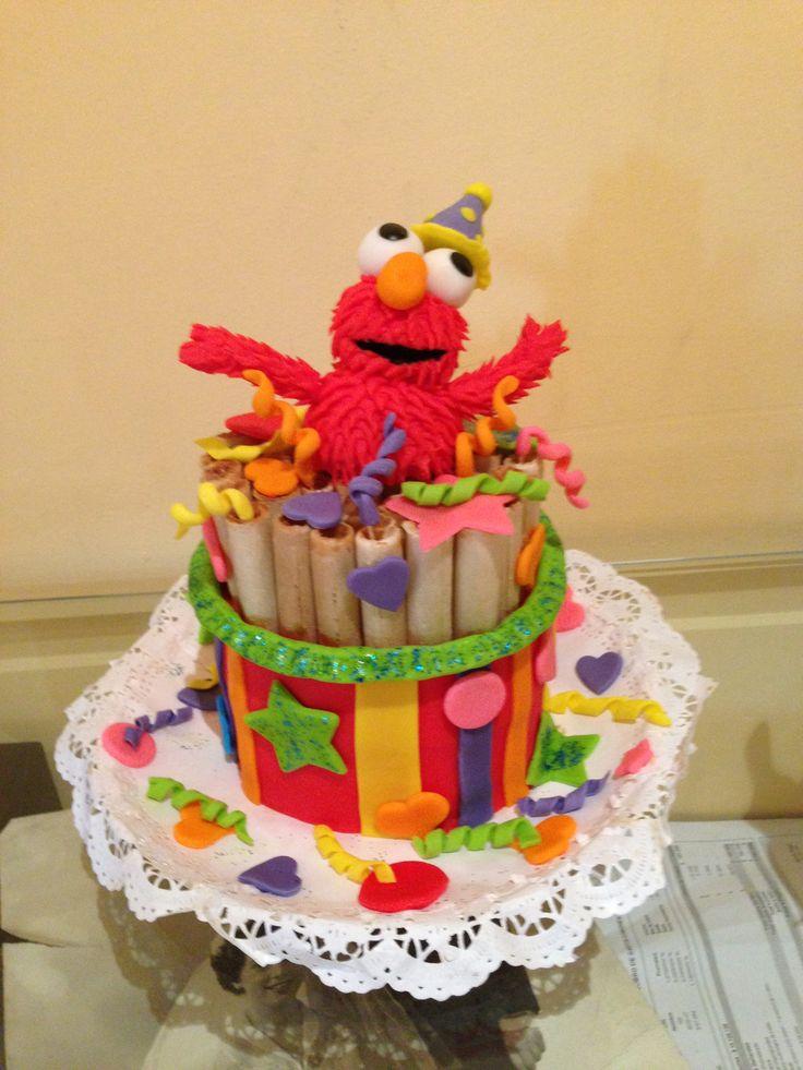 Torta cuchufli Elmo!