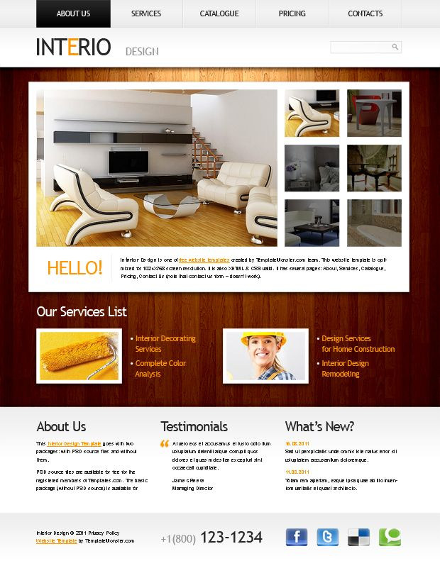 455 best Free PSD template website images on Pinterest