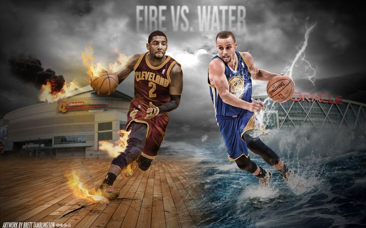 Kyrie Irving and Stephen Curry Wallpaper