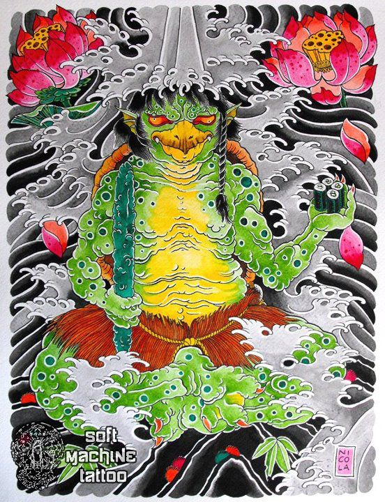 90 best images about kappa water goblin on pinterest scenery paintings japanese art and. Black Bedroom Furniture Sets. Home Design Ideas