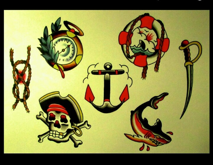 Flash tattoo desenhos para tatuar | old school | Pinterest