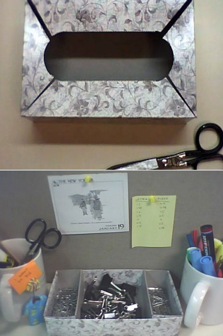 Stop tossing Kleenex boxes and start putting them to good use.