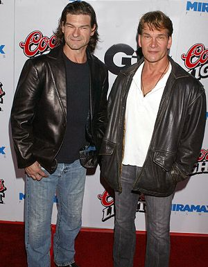 Patrick Swayze And His Brother | Has a brother who is an actor, named Don Swayze . Who KNEW?!? Don you ...