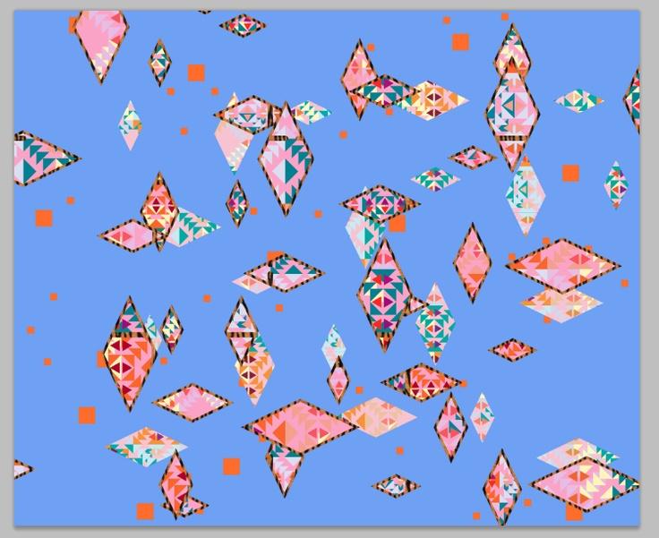 Geometric pattern   http://vasarenar.tumblr.com/