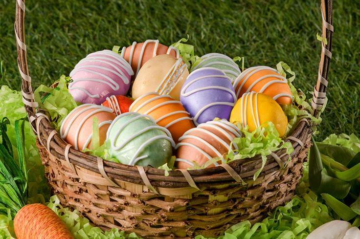 Recipe: Easter Egg Lemon Cake Bites