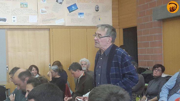 Giovanni Bettini, architetto ed ambientalista interviene durante la Tavola Rotonda