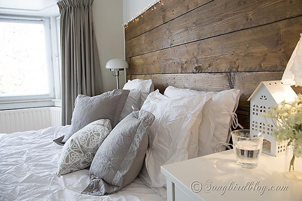 white and grey bedroom linens decorating