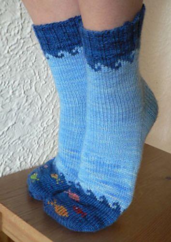 fischige Socken