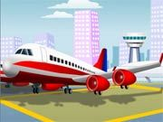 Jumbo Jet Parking    You are a pilot of the jumbo jet plane.rnYour task is to park the landing plane in a rnparking area. Avoid hitting other planes and objects rnon the airport. Collect coins to score points.rnHave Fun! Use WASD or Arrow keys to drive.  http://ezarcade.net/games/jumbo-jet-parking/