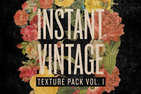 TEXTURE PACK VOL. 1 by INSTANT VINTAGE on Creative Market